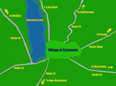 Village of Cazenovia Map